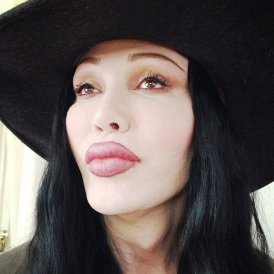 "Pete Burns is the lead singer for Dead or Alive, the English band that scored a number one hit, ""You Spin Me Round (Like a Record),"" in 1985. (Courtesy of Burns' Twitter account)"