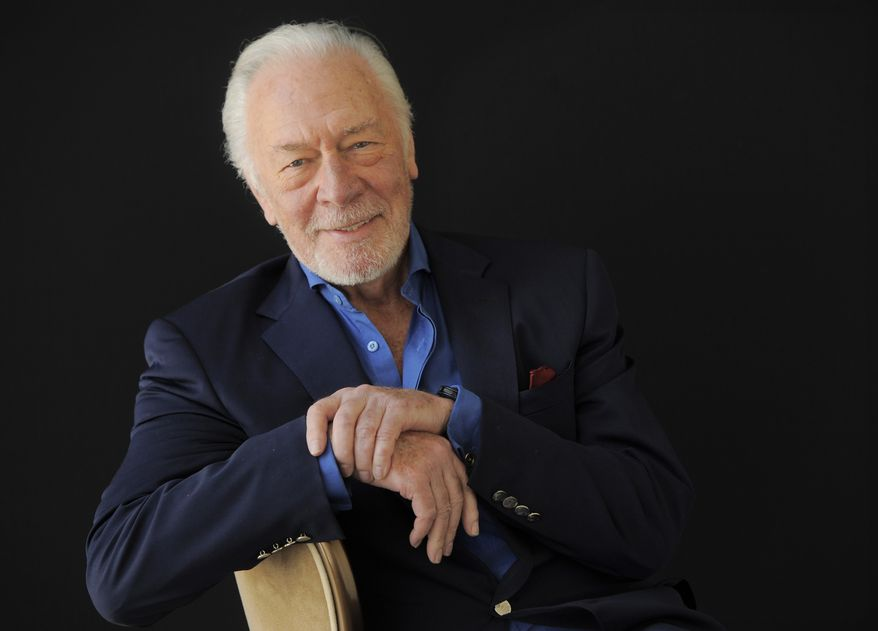 "** FILE ** In this July 25, 2013, file photo, Christopher Plummer, a cast member in the HBO film ""Muhammad Ali's Greatest Fight,"" poses for a portrait at the Beverly Hilton Hotel in Beverly Hills, Calif. (Photo by Chris Pizzello/Invision/AP, File)"