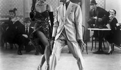 """** FILE ** Cyd Charisse and Fred Astaire in """"The Band Wagon"""" in 1953. (Associated Press)"""