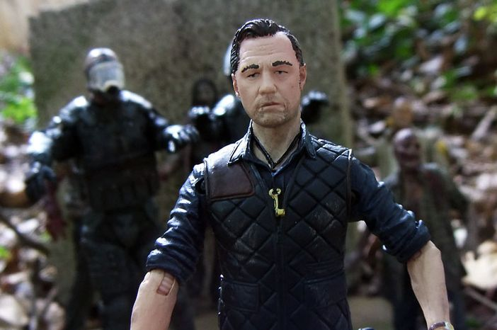 The Governor stars in McFarlane Toys' The Walking Dead TV Series 4 action figure collection. (Photo by Joseph Szadkowski/The Washington Times)