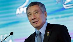 """Obviously we prefer a U.S. government which is working to one which is not,"" Singapore Prime Minister Lee Hsien Loong said in reference to the shutdown. (ASSOCIATED PRESS)"