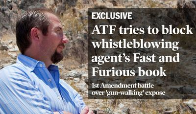 "National Edition News Cover for October 7, 2013 - ATF Special Agent John Dodson warned his superiors of the Fast and Furious investigation, ""I think it's going to end bad. Are you prepared to go to an agent's funeral?"" He tells the story in a newly published book. (Associated Press)"