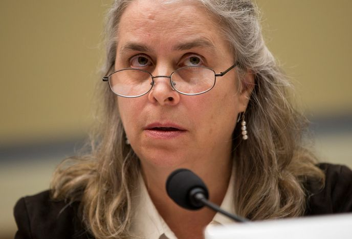 """Sarah Hall Ingram, director of the Affordable Care Act Office at the Internal Revenue Service, told a House committee Wednesday that she was """"not conscious of ever sharing 6103 data information at the White House."""" She said the agency is keeping Obamacare applicants' information private. She also said she had &a"""