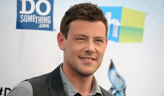 "** FILE ** This Aug. 19, 2012, file photo shows actor Cory Monteith at the 2012 Do Something awards in Santa Monica, Calif.  Monteith, who shot to fame in the hit TV series ""Glee,"" died on July 13, 2013, at the age of 31.  A tribute episode of ""Glee,"" will air on Thursday, Oct. 10. (Photo by Jordan Strauss/Invision/AP, File)"