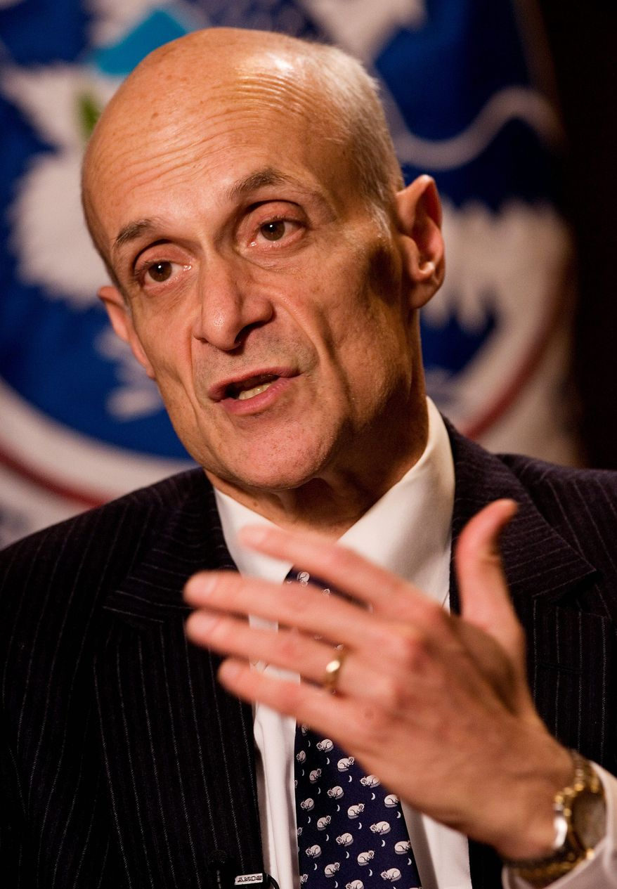 Michael Chertoff, a former Homeland Security secretary, says if more immigrants were granted deferred action, it doesn't solve the problem for businesses that would have to decide whether to hire them and could halt momentum toward a full legalization solution. (associated press photographs)