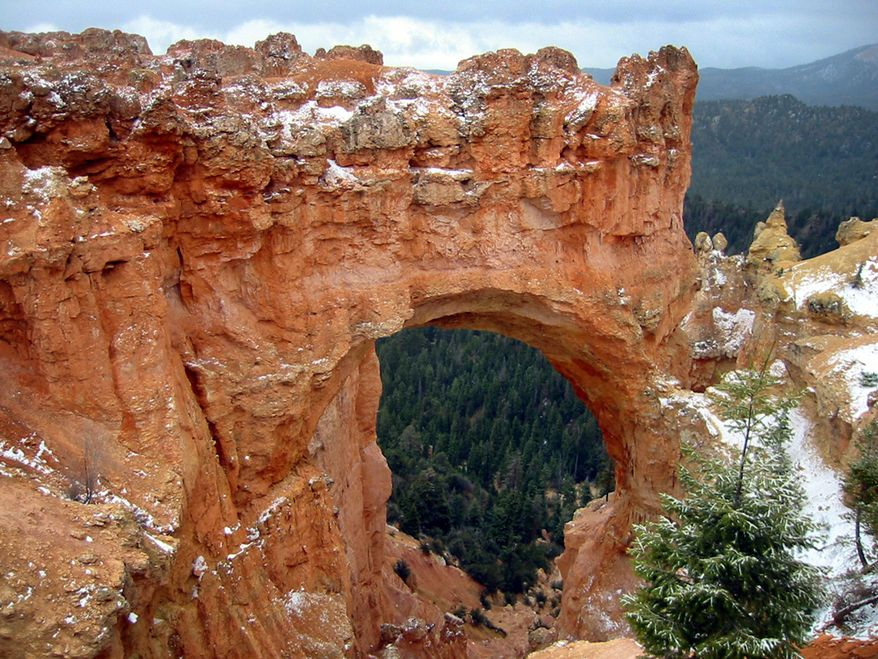 **FILE** A view of Bryce Canyon National Park in Utah is seen here on April 27, 2002. (Associated Press)