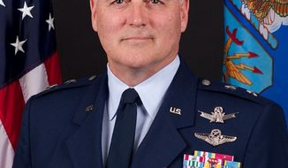 Maj. Gen. Michael Carey. (Screen grab from http://www.af.mil/)