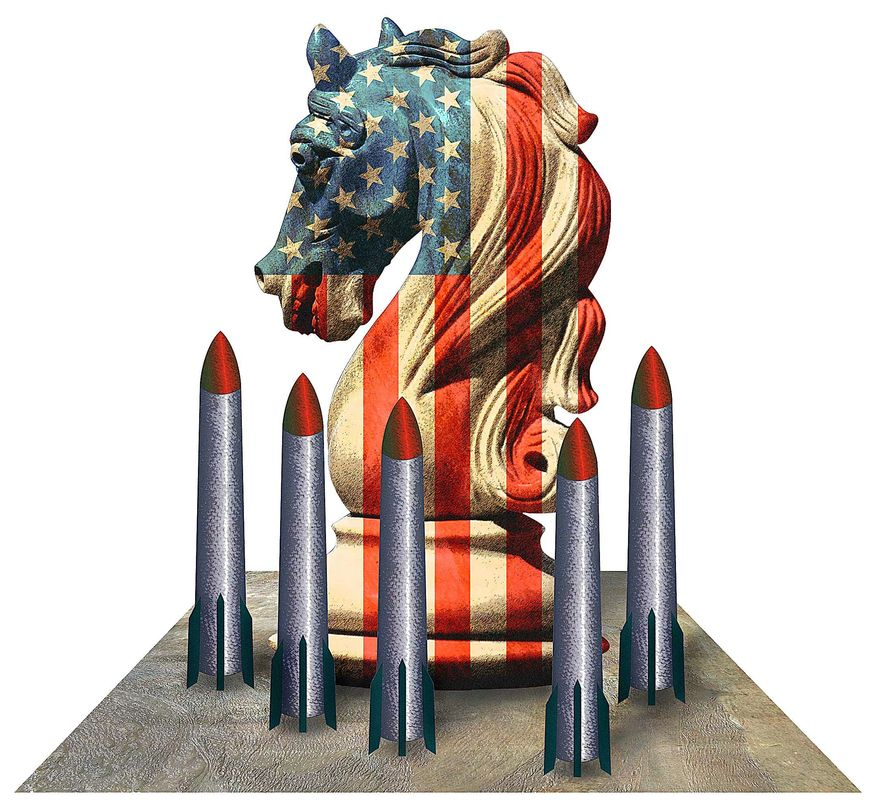 Illustration by Greg Groesch for The Washington Times