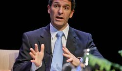 Conflict? Virginia Attorney General Kenneth T. Cuccinelli II, Republican gubernatorial candidate, is enforcing the elimination of duplicate voters. (Associated Press)