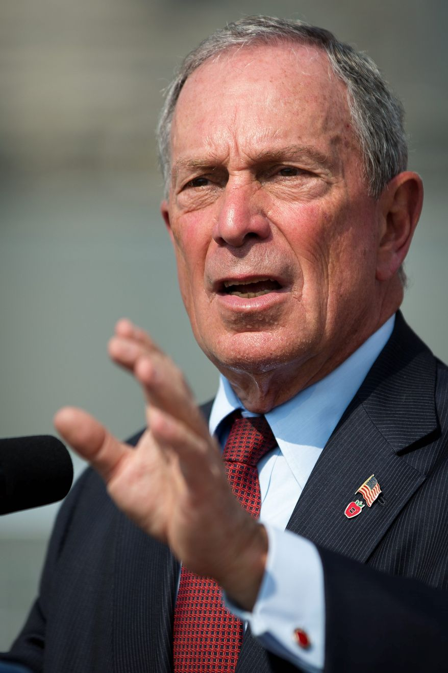 New York City Mayor Michael R. Bloomberg disputes contentions that his Mayors Against Illegal Guns group lost in Colorado. (Associated Press)