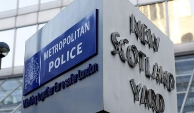 ** FILE ** New Scotland Yard is the headquarters of London's Metropolitan Police, Britain's foremost and largest police service. (Associated Press)