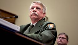National Park Service Director Jonathan B. Jarvis has been subpoenaed to testify before Congress on decisions he made regarding the closing of national parks during the government shutdown. (Associated Press)