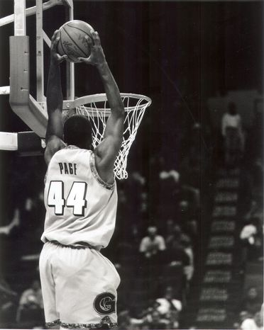 **FILE** Former Georgetown star Victor Page led the Big East in scoring in 1996-97. He's currently serving a 10-year jail sentence i