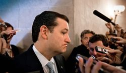 """Sen. Ted Cruz, Texas Republican: """"What the focus should be is on making Washington, D.C., listen to the American people and respond to the very real harms that Obamacare is causing to millions of people."""" (Associated Press)"""