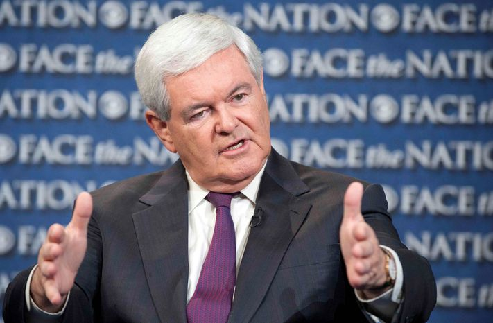 Former House Speaker Newt Gingrich says there's little comparison between this month's government shutdown and the shutdown of 1995-96. (Associated Press)