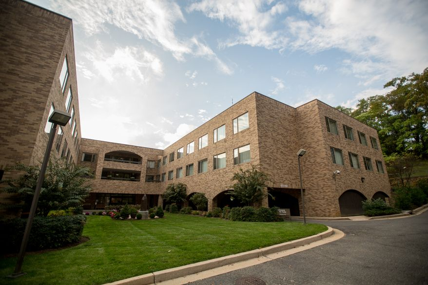 The Little Sisters of the Poor facility, where Sosefina Amoa, who was about to being religious training, allegedly suffocated her infant son minutes after giving birth in Washington, DC., Thursday, October 17, 2013.  (Andrew S Geraci/The Washington Times)