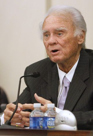 Rep. C.W. Bill Young, Florida Republican, served 43 years in Washington before his death on Friday, Oct. 18, 2013. He wa