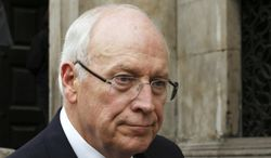 Former U.S. Vice President Dick Cheney. (AP Photo/Olivia Harris, Pool, File)