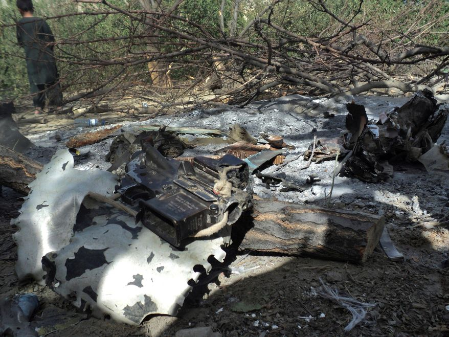 Only questions remain: A CH-47 Chinook helicopter was the wrong aircraft to fly into an uninspected and unwatched landing zone infested with Taliban fighters, according to family members of some of the 30 Americans killed. The Chinook helicopter burst into flames before hitting the ground.