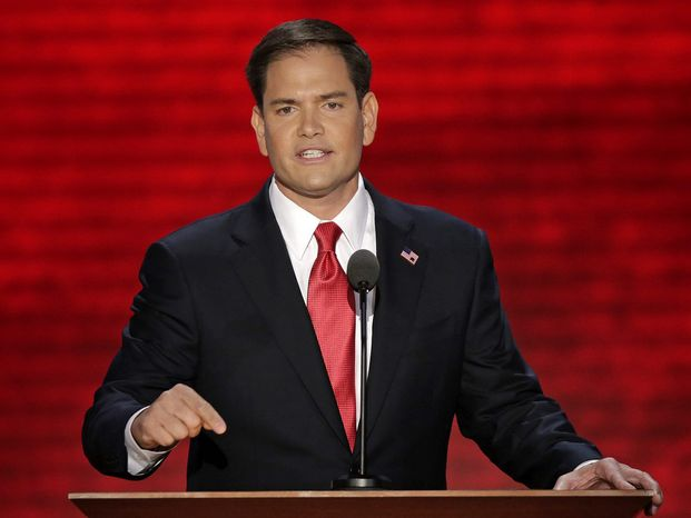Sen. Marco Rubio soon will file legislation delaying the individual mandate under Obamacare until the GAO certifies that the website actually works. (Associated Press)