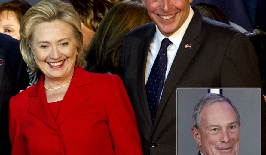 Hillary Clinton is supporting Terry McAuliffe in the Virginia governor's race. Now Michael Bloomberg is backing the Democrat.