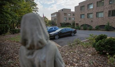 The Little Sisters of the Poor facility where Sosefina Amoa allegedly suffocated her infant son minutes after giving birth.  (Andrew S Geraci/The Washington Times)