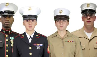 "The Marine Corps Uniform Board seeks active-duty and Reserve Marines' feedback on three uniform-related issues. One issue is whether the Corps should adopt universal, unisex dress and service caps—either the current male frame cap with modifications or the Dan Daly cap, which had previously been identified as the replacement cap for the female ""bucket†cover."