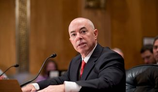 Alejandro Mayorkas, President Obama's choice for deputy secretary of the Homeland Security Department, is facing questions about statements he's made that are seen as misleading or untrue. No vote to confirm him is set. (associated press)