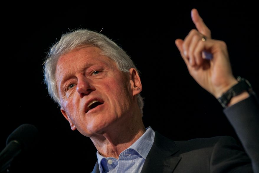 ** FILE ** Former President Bill Clinton. (AP Photo/Zach Gibson)