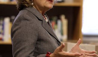 ** FILE ** Rep. Diane Black, Tennessee Republican, speaks in Murfreesboro, Tenn., on Nov. 9, 2011. (Associated Press)