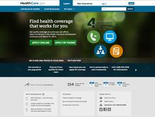 The main landing page for the U.S. Department of Health and Human Services' HealthCare.gov website is shown in a screenshot from Monday, Oct. 28, 2013. (AP Photo/U.S. Department of Health and Human Services)