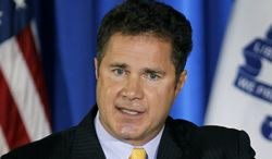 ** FILE ** This this Oct. 29, 2010, file photo shows Rep. Bruce Braley, D-Iowa, in Dubuque, Iowa. (AP Photo/Charlie Neibergall, File)