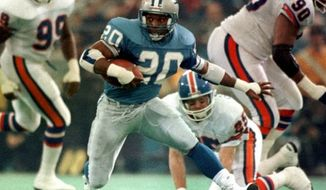 ** FILE ** NFL great Barry Sanders. (Associated Press)