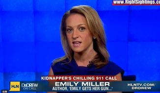 Emily Miller on CNN/HLN. Oct. 31, 2013.