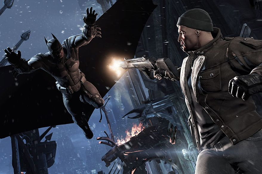 Criminals can not hide from the Dark Knght in the video game Batman: Arkham Origins.