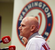 Matt Williams, introduced Friday as the new manager of the Washington Nationals, is more than willing to talk about his pending relationship with his players, including those with whom he engaged in an altercation June 5, 2011, while with the Diamondbacks. (Associated Press)