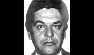 FILE - An undated file photo of Enrique Kiki Camarena, the U.S. Drug Enforcement Administration, DEA, agent, murdered in Mexico in 1985. In the U.S., outrage grew over the surprise decision to overturn Mexican drug lord Rafael Caro Quinteros conviction for the 1985 slaying. Caro Quintero walked free Friday, Aug. 9, 2013, after a federal court overturned his 40-year sentence in Camarenas kidnapping, torture and murder. (AP Photo, File)