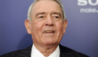 "Longtime broadcast journalist Dan Rather attends the premiere of ""The Ides of March"" in New York on Oct. 5, 2011. (AP Photo/Evan Agostini)"