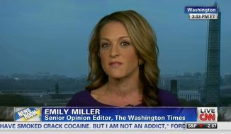 Emily Miller on CNN. Nov. 5, 2013