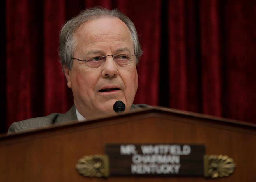 """EPA seems to be going out of its way during its listening tour to avoid those states that rely on coal the most for electricity,"" said Rep. Ed Whitfield, of Kentucky. (ASSOCIATED PRESS)"