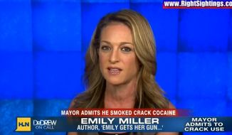 Emily Miller on CNN/HLN. Nov. 7, 2013.