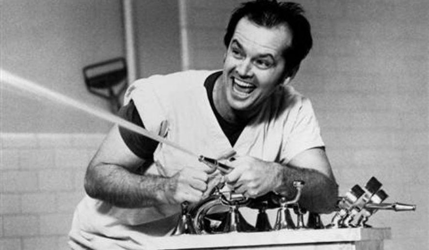 "** FILE ** Jack Nicholson stars in ""One Flew Over the Cuckoo's Nest."""