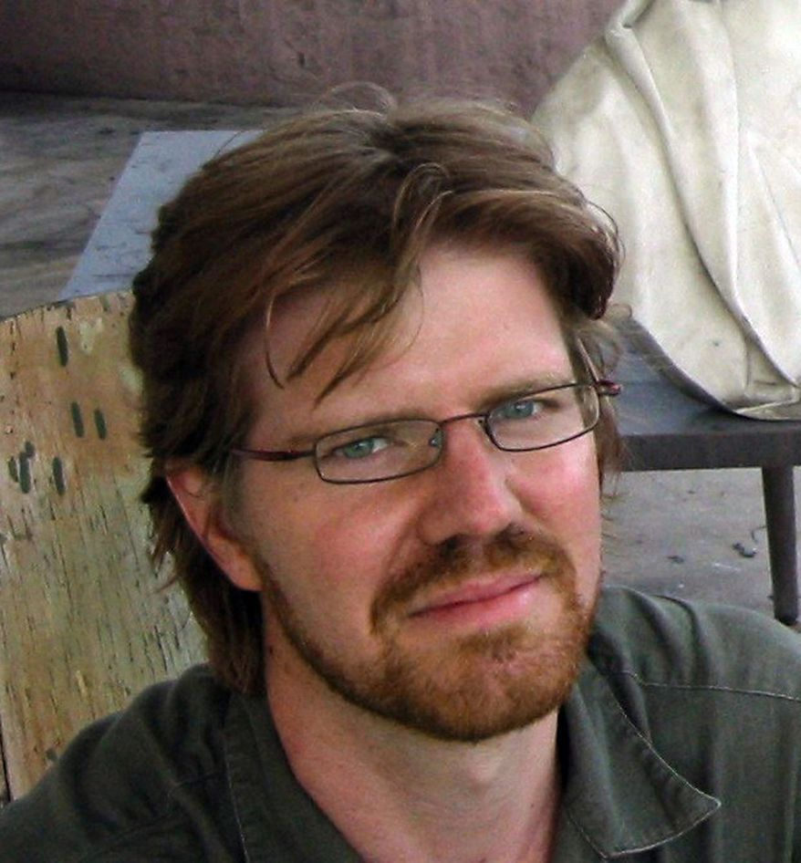 Jim Wyss, Andean bureau chief for The Miami Herald, was detained by Venezuelan authorities while reporting on politics and the chronic shortages in the South American country, the newspaper said on Friday, Nov. 8, 2013. (AP Photo/Jim Wyss via The Miami Herald)