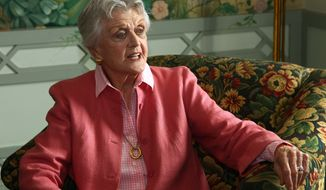 "** FILE ** In this Jan. 7, 2013, file photo, actress Angela Lansbury poses for photos in Sydney, Australia. The 88-year-old actress says ""it's a mistake"" for NBC to call a new show ""Murder, She Wrote."" (AP Photo/Rick Rycroft, File)"
