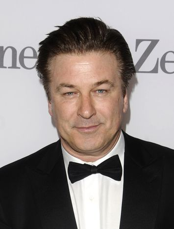 Alec Baldwin attends the Museum of the Moving Image salute to the actor in New York in 2011. (AP Photo/Peter Kramer)