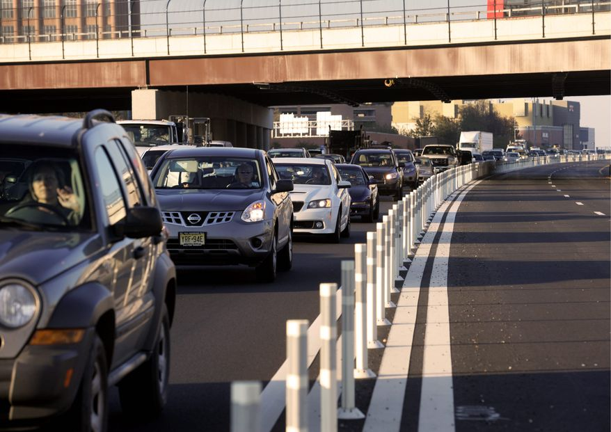 Analysts say the lower-than-expected traffic on the 495 Express Lanes, built through a private-public partnership, could be a result of changing transit patterns, an indication that drivers lack familiarity with the lanes or that predictions in early planning stages were overly optimistic. (Associated Press)