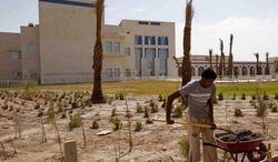 """A $165 million children's hospital in Basra is among hundreds of projects in Iraq funded by U.S. taxpayers. The U.S. and its allies are still paying millions of dollars for reconstruction of the war-ravaged country, even though Baghdad is reaping revenue from its oil industry. Two donor nations are pulling out of the trust fund. A State Department official defended U.S. assistance, saying it is aimed at maintaining a strategic partnership with Iraq. However, the official said, there is """"room for improvement"""" (Associated Press)"""