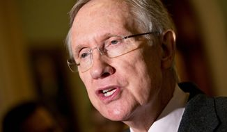 Senate Majority Leader Harry Reid, Nevada Democrat, has opposed using the Yucca Mountains in his home state for the storage of nuclear waste. (ASSOCIATED PRESS)