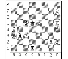 Carlsen-Anand, Game 5, after 45...Bh7.