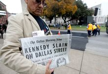Loose gatherings of the curious and conspiracy-minded have marked past anniversaries of the JFK assassination, but the city of Dallas has planned a solemn ceremony for Friday.